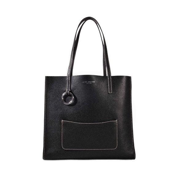 Marc Jacobs Handbags - Marc Jacobs Leather Pocket Top-Handle Bag Tote